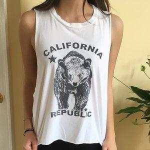 Brandy Melville Muscle T-Shirt